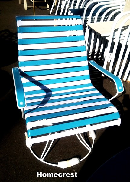 Homecrest Patio Furniture Replacement Slings: Refurbished Patio Furniture