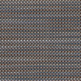 "FP-057 Pria Tweed Indigo Fabric Width: 54"" Phifertex® Cane Wicker Fabric Repeat: Plain"