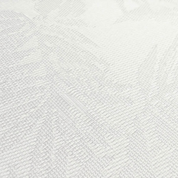"FP-015 White Jungle Fabric Width: 54"" Phifertex® Jacquard Plus Fabric Repeat: 27"" x 17"""