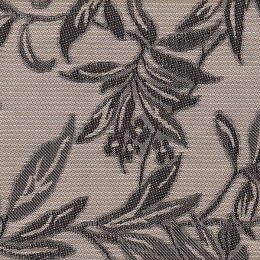 "FT-128 Tea Leaves Fabric Width: 54"" Textilene® Wicker Fabric Repeat: Plain"