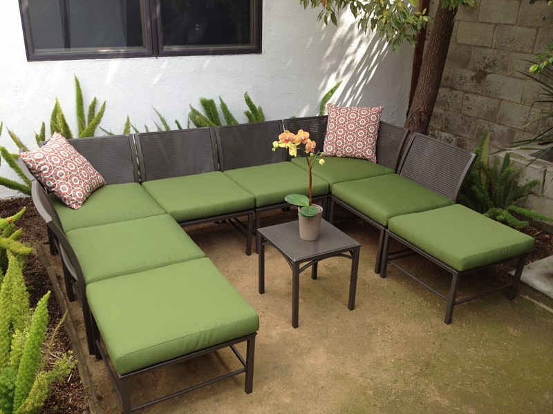 Custom Cushions Fabrics For Patio Chairs And Outdoor Furniture