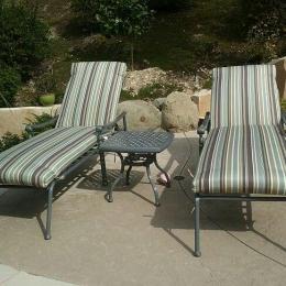 Hanamint Chaise lounges