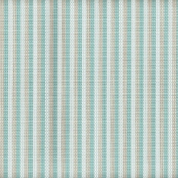 "FP-048 Aquafino Fabric Width: 54"" Phifertex® Stripe Fabric Repeat: Horizontal 7"""