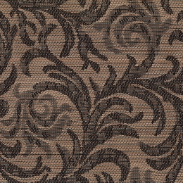 "FT-127 Fancy Filigree Fabric Width: 54"" Textilene® Wicker Fabric Repeat: Plain"