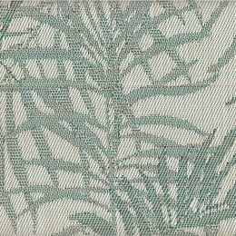 "FT-133 Green Bamboo Fabric Width: 54"" Textilene® Wicker Fabric Repeat: Plain"