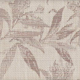 "FT-135 Sienna Tea Leaves Fabric Width: 54"" Textilene® Wicker Fabric Repeat: Plain"